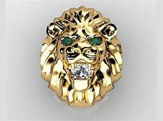 2019 Popular Lion Engagement Rings