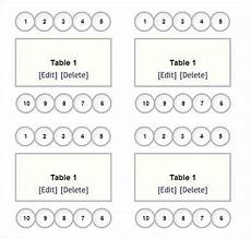 Downloadable Seating Chart Free 14 Simple Wedding Seating Chart Samples In