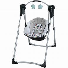 swing baby graco slim spaces compact baby swing etcher walmart