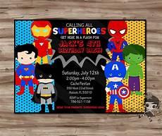 Superhero Invite Template Superhero Invitation Superhero Invitation Superhero Invitation