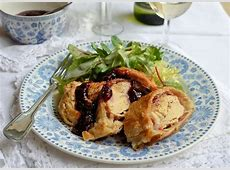 Chicken wellington with cherry sauce recipe   Great