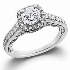 7 8ct cushion diamond vintage halo engagement ring 14k