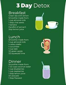 3 day detox diet simply supplements