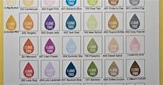 Memento Markers Color Chart Memento Ink Blank Color Chart Ink Pads Pinterest