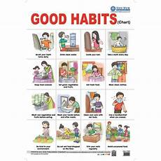Good Habits Chart For School Good Habits Charts
