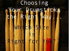 Promark Drumstick Size Chart How To Choose Drum Stick Size Comprehensive Guide