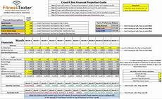 Crossfit Business Plan Template Free Profit Amp Loss Financial Forecast Excel Spreadsheet