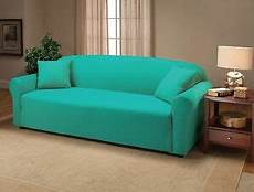 jersey aqua sofa fitted slipcover available in all
