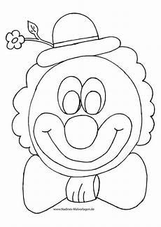 clowns ausmalbilder sch 246 n bunter clown mit blume fliege
