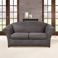 Surefit Sofa Slipcovers Leather 3d Image by Sure Fit Ultimate Stretch Faux Leather Sofa Slipcover