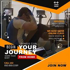 Training Advertisement Template Home Fitness Workout Program Video Ad Template Postermywall