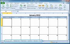 How To Make A 12 Month Calendar In Word How To Create A Calendar In Excel