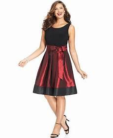 Sl Fashions Dress Size Chart Sl Fashions Plus Size Sleeveless Pleated Side Bow Dress