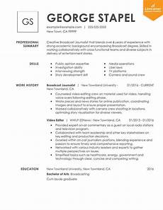 A Sample Of A Good Resume 9 Best Resume Formats Of 2019 Livecareer