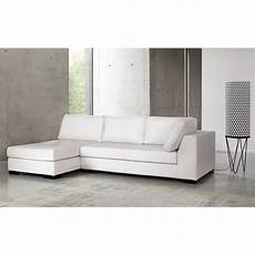 leather rhf modular sofa bed in white terence maisons du