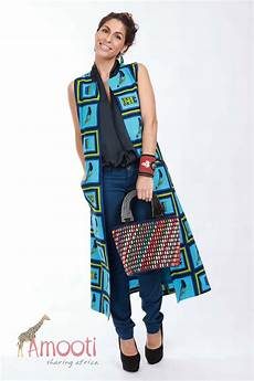 African Wrapper Designs Modern African Wrapper The Women S African Long Vest Coat