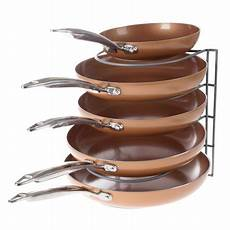 kitchen cabinet pot pan and lid organizer and holder
