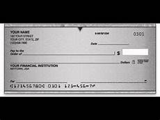 How To Write A Check How To Post Date A Check Life Lessons 2 Youtube