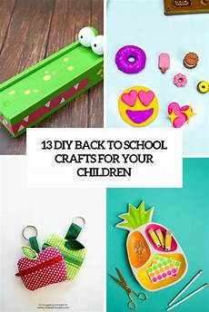 13 diy back to school crafts for your children shelterness