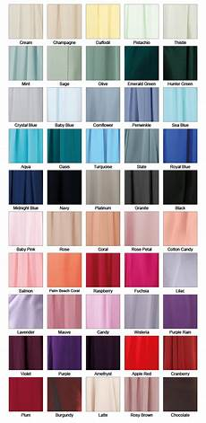 pretty dresses color chart bridesmaid dress colours richard designs
