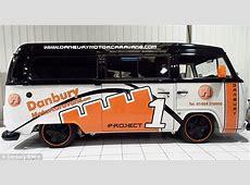 Pimp my VW campervan: van boasts flatscreen TVs, three electric sunroofs and Porsche alloy