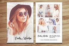 Free Headshot Template Modeling Comp Card Template Fashion Model Comp Card
