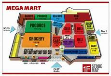 Grocery Store Map About Our Store Megamart Atlanta