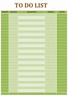 Microsoft Templates To Do List 10 To Do List Templates Word Excel Amp Pdf Templates