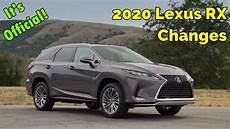 lexus rx 2020 refreshed 2020 lexus rx s changed