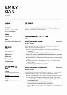 Hostess Job Description Resumes Hostess Resume Amp Guide 12 Resume Examples Free