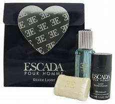 Silver Light Editions Escada Pour Homme And Silver Light Edition Gift Set Each