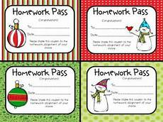 Homework Pass Template Word Inexpensive Gift Ideas For Students 18 Budget Friendly