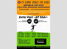 Playmatches   TN SCHOOL SPORTS AND GAMES REPUBLIC DAY KIDS