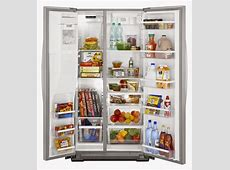 Whirlpool Refrigerator Brand: WSF26C2EXW Side By Side