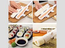 Sushi Kimbap Roll Maker Kit Sushezi Easy Roll Bazooka