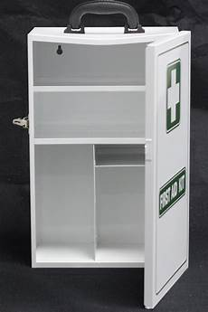 aid cabinet empty metal cabinet white 450x280x150mm