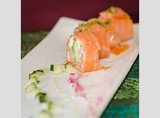 Smoked Salmon Rolls with Cucumbers, Red Onion and Acovado