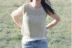 summer vacation knit top pattern in a stitch