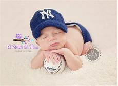 new york yankees baseball tean baby from a stitch in time