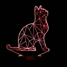 Cat Night Light Usb 2016 New Cool 3d Spiralism Night Lamp Cat Animal Shapes