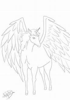 Einhorn Pegasus Ausmalbilder Ausmalbilder Einhorn Und Pegasus Kostenlose Malvorlagen
