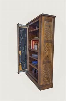 bookcase gun storage american concealed furniture