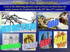Reasons For European Exploration European Explorers