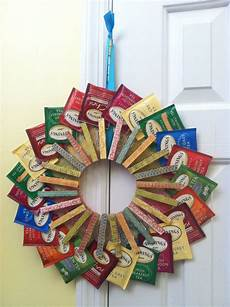 crafts gifts tea bag wreath it was to make clothes pin wreath
