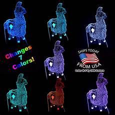 Fortnite Night Light 3d Illusion Lamp Fortnite Llama Night Light Touch Table