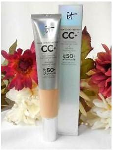 It Cosmetics Supersize Cc Illumination Light 2 53 Fl Oz It Cosmetics Super Size 2 53 Oz Full Coverage Cc