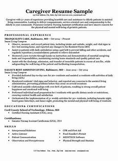 Caregiver Resume Sample My Perfect Resumes Registered Nurse Rn Resume Sample Amp Tips Resume Companion