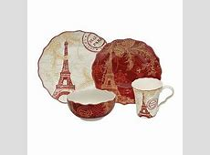 Shop 222 Fifth 'Joyeux Noel' Red and Gold 16 piece