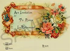 Farewell Invitation Samples Farewell Retirement Invitations