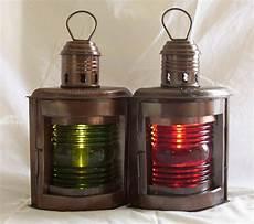 Antique Ship Lights Antique Lamp Lighting Antique Ship Port Starboardoil Lamp